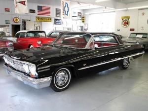 オールドカー シボレー インパラ  1963モデル