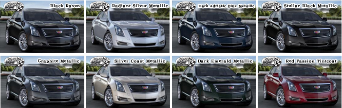 キャデラック XTS 2016 (Cadillac XTS) カラー