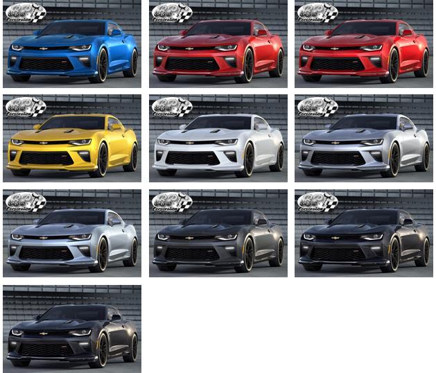 シボレー カマロ 2017(CHEVROLET Camaro)中古車 カラー