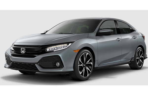 US ホンダ シビック ハッチバック2017(HONDA CIVIC hatchback)中古車
