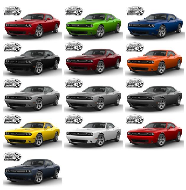 ダッジ チャレンジャー 2017(DODGE CHALLENGER)新車  カラー