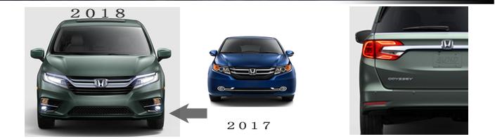 USホンダ オデッセイ 2018 (US HONDA Odyssey)中古車スペック