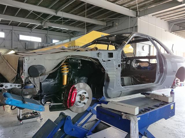R32 Skyline GT-R Outrigger Panel(built-to-order) reinforcing component - BP Corporation original