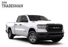 ダッジ ラム トラック1500 2019年 (RAM Truck) 新車 TRADESAM