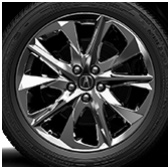 20-in Dark Chrome-Look Alloy Wheels with Tires
