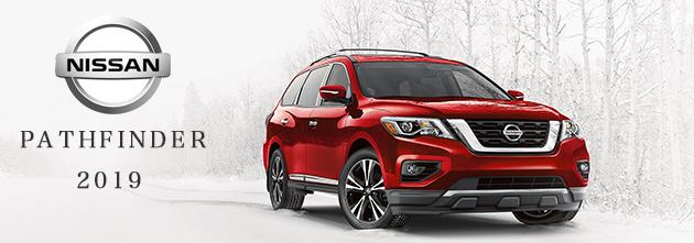 USニッサン パスファインダー 2019 (US Nissan Pasthfinder)新車 看板画像