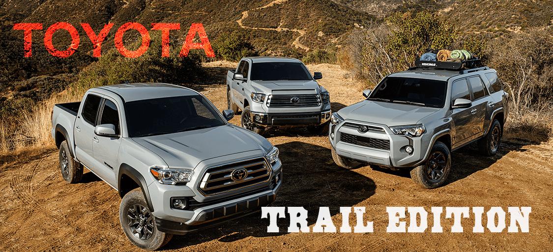 トヨタ,2021年モデル,4ランナー(4Runner),タコマ(Tacoma),タンドラ(Tundra),SUV, 特別エディション,トレイルス,ペシャルエディション,限定発売