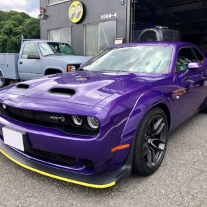 DODGE CHALLENGER SRT RED EYE WIDE BODY 栃木県 A様