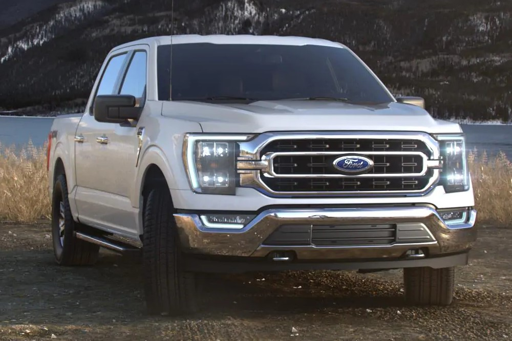 フォード F150 2021(Ford F150) oxford_white