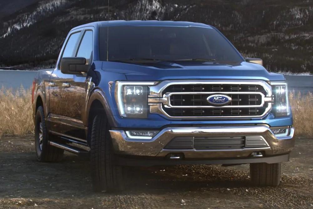 フォード F150 2021(Ford F150) velocity_blue