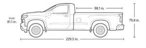 シボレー シルバラード 1500 2021 (Chevrolet Silverado 1500)新車