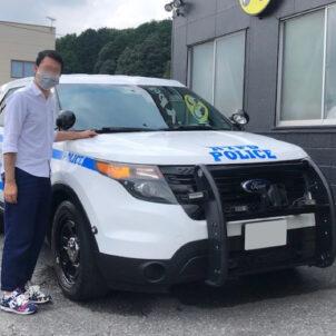 2014 FORD POLICE INTERCEPTOR UTILITY 東京都 K様