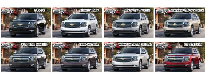 シボレー タホ 2015 (Chevrolet Tahoe)【中古車】 カラー