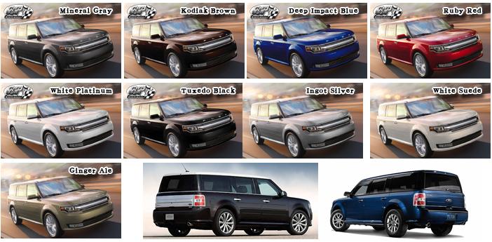 フォード フレックス 2014 (Ford Flexs) カラー