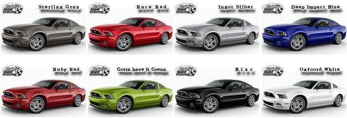 フォード マスタング 2015 (Ford Mustang)【中古車】 カラー