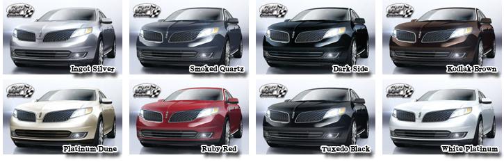 リンカーン MKS 2014 (Lincoln MKS) 【中古車】 カラー