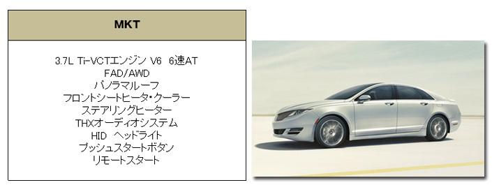 リンカーン MKZ 2014 (Lincoln MKZ) グレード 装備品