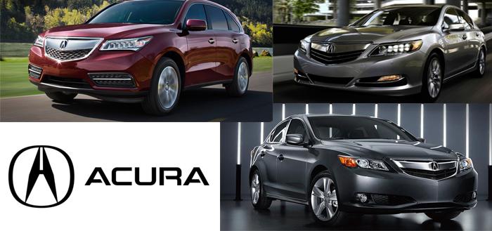 アキュラ Acura 逆輸入車 新車 イメージ