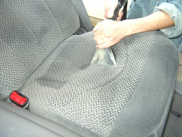 納車前 室内洗浄クリーニング